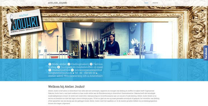 Atelier Jouhri homepage