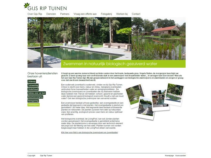 Gijs Rip Tuinen homepage