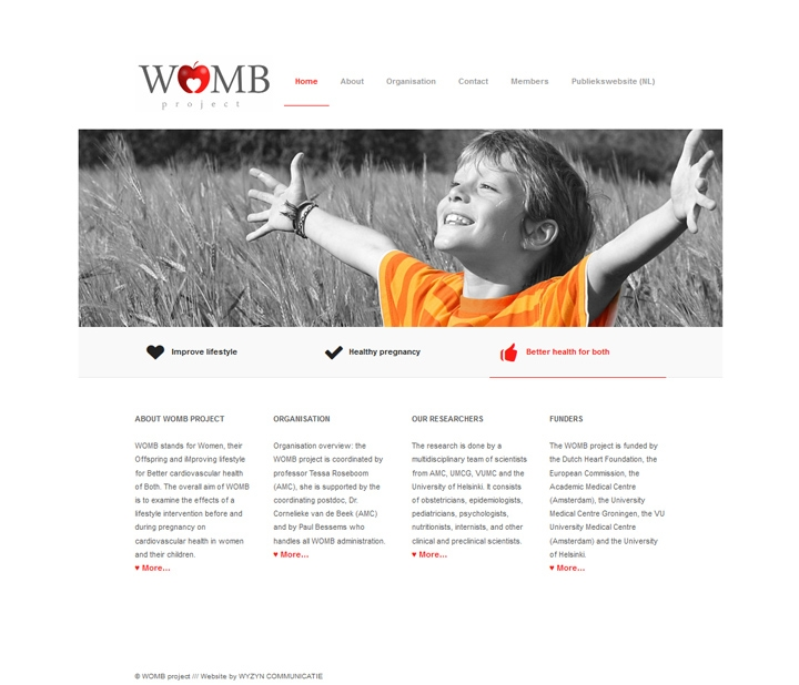 WOMB project homepage