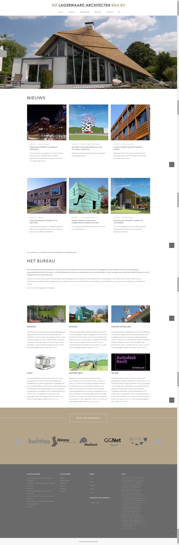 Lagerwaard Homepage website