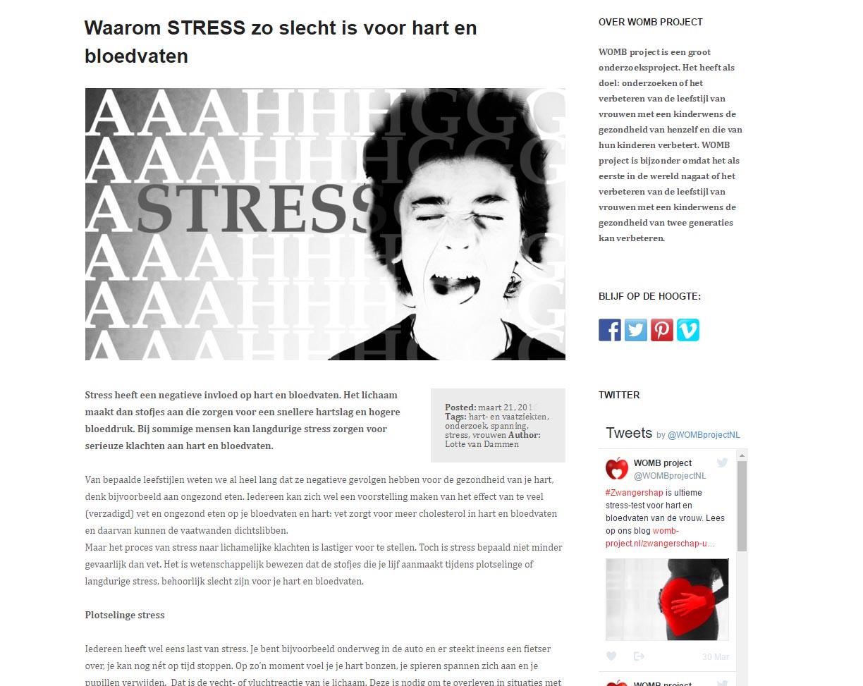 WOMB-project-stress