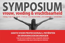 Symposium Vrouw, Voeding, Vruchtbaarheid